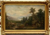 view of the white mountains, new hampshire by paul ritter