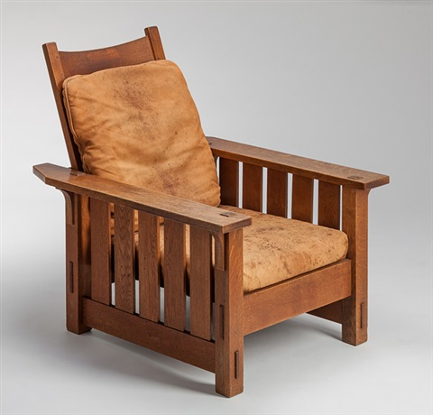 morris chair nr 332 by gustav stickley
