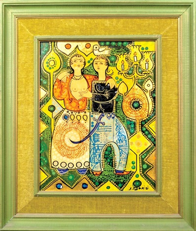 young lovers i young lovers ii 2 works by sadegh tabrizi