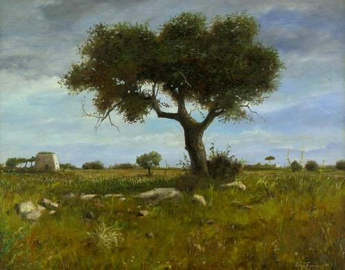 paesaggio salentine primavera 2 works by marco fiorillo