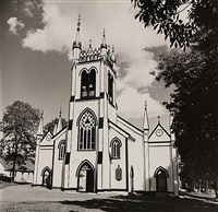 church new england by walker evans