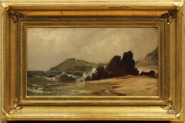 rocky shoal by john frederick kensett