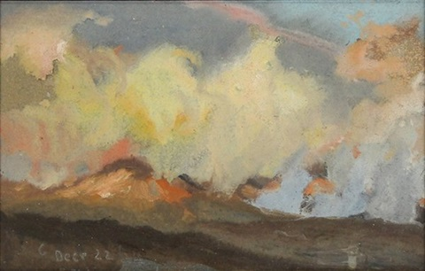 volcano study by colin campbell cooper