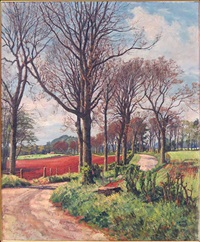 angus by the road by james mcintosh patrick