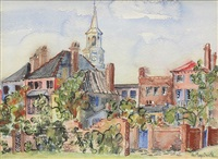 view of charleston by edith demay smith