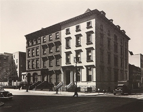 fifth avenue houses 4 by berenice abbott
