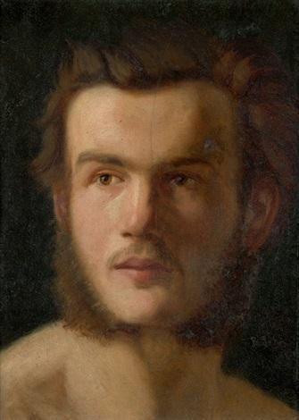 bildnis eines jungen mannes (selbstbildnis?) by carl rudolph sohn