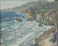 california coastline by william dorsey