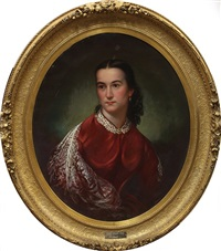 mary kellog page, wife of a sacramento riverboat captain by william smith jewett