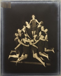 the russian pupils of isadora duncan - circular arrangement by edward steichen