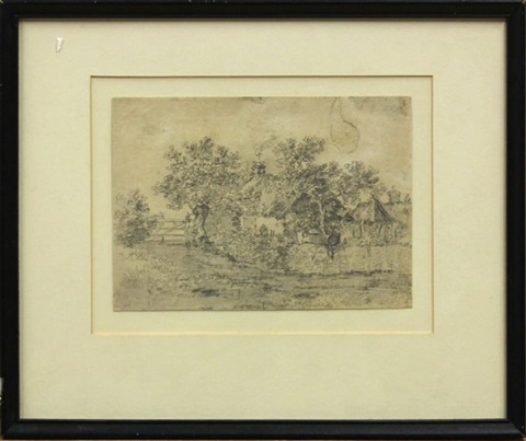 landscape with cottage by thomas gainsborough