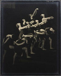 the russian pupils of isadora duncan - reaching upward by edward steichen
