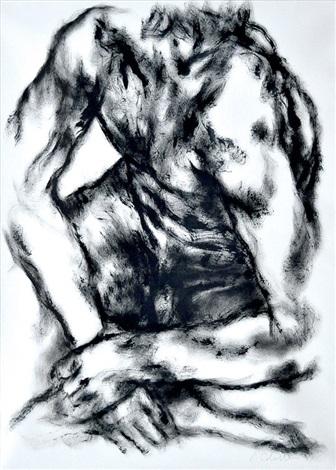 male torso by luis caballero