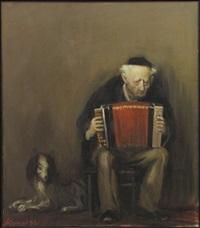 accordion player by alexandr kachkin