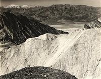 death valley by edward weston