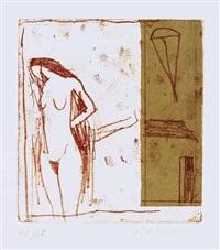 akt (3 works) by karl bohrmann