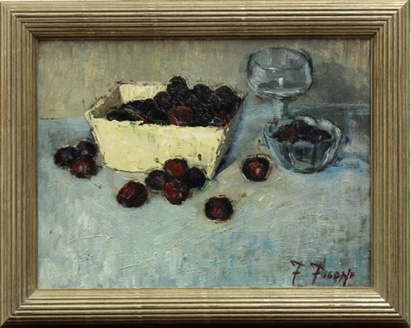 bing cherries by fortunato v. figone