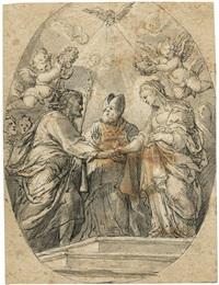 die verlobung mariae by hans georg asam