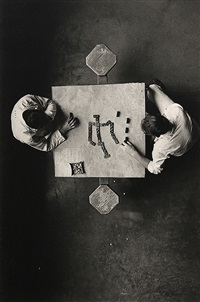 cell block table by danny lyon