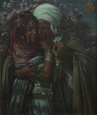 esclave d'amour fit lumiere des yeux by alphonse etienne dinet