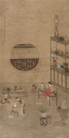 人物 (people) by huang yuheng