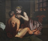 roman charity by guido reni