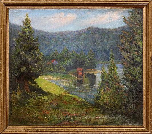new england landscape by george gardner symons