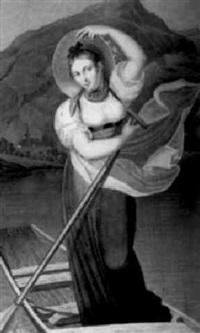 elisabeth grossmann. la belle batelière de brienz by joham emmanuel locher
