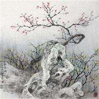 报春图 by ren daqing