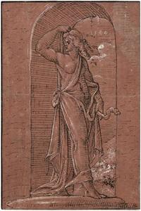 weibliche allegorie mit schlange in einer nische by anonymous-german (16)
