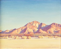 desert afternoon by clyde forsythe