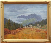 november weather - sierra buttes by langdon smith