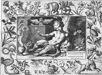 memento mori (hodie mihi, cras tibi) by gerard de jode