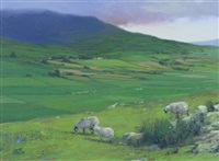 clouds over kilarney by brian blood