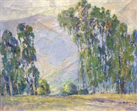 eucalyptus trees by florence upson young
