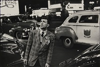 new york, new york; new york city (2 works) by louis faurer