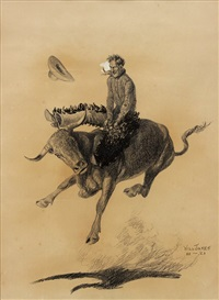 the bull rider by will james
