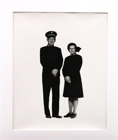 salvation army couple by elliott erwitt