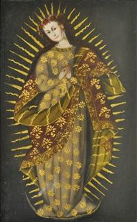 la virgen del carmen by peruvian school-cuzco (18)