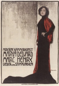moderne kammerkunst. marya delvard, mark henry. lieder und stimmungen by fritz-friedrich boscovits