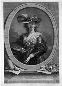 selbstbildnis der louise elisabeth vigée lebrun by johann gotthard von müller