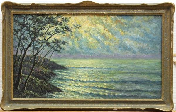 monterey coastline by florence reinhold earnist