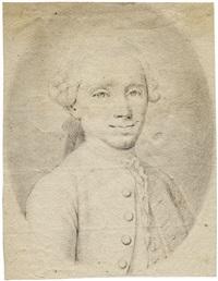 brustbild eines herrn, leicht nach rechts by jean-baptiste carvelle