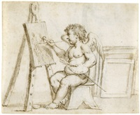 allegorie der malerei by jacopo alessandro calvi