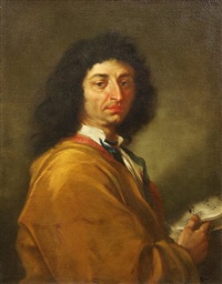 portrait of a composer by ferdinand bol