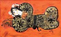 reclining woman by nasser ovissi
