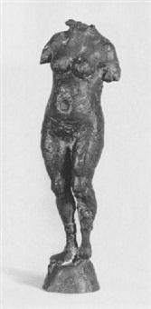 stehende weibliche figur by joachim dunkel