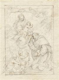 die madonna erscheint dem hl. hyazinth by carlo francesco nuvolone