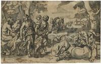 jagdszene mit diana, nymphen und satyr by anonymous-dutch (17)