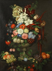 floral still life by continental school (18)